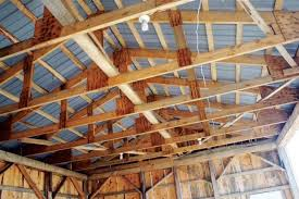 Truss Spacing Pole Barn Do It Yourself Pole Barn Building Diy Mother Earth News