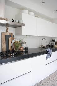 modern white kitchen ideas modern white and black kitchen best 25 modern white kitchens ideas