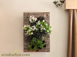 indoor living wall kit with modern frame stacked stone diy