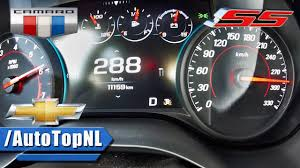 chevy camaro ss top speed chevrolet camaro ss acceleration top speed 0 288km h by