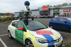 google images car have you seen the google maps car and backpacker around chester
