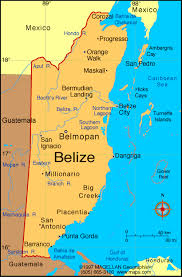 south america map belize map central america belize