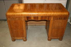 reloved rubbish vintage waterfall desk