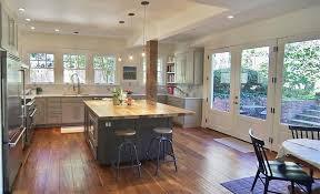 kitchen with kitchen island u0026 european cabinets in atlanta ga