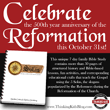 martin luther reformation resources for families thinking kids