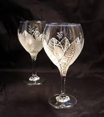 wine glasses for wedding wedding wine glasses