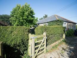old stone gardeners cottage in somerset with peaceful secluded