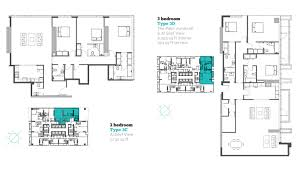marina arcade residences floor plans dubai marina 3 bedroom type 3d 3c