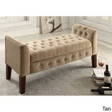 Overstock Bedroom Benches 296 Best Home Decor Ottoman Benches Images On Pinterest Ottoman