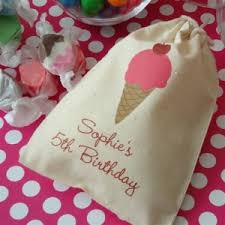 muslin favor bags birthday party favor bags goody bags for kids