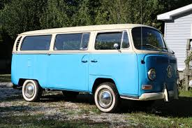 volkswagen bus 1970 1969 vw bus for sale two tone blue white runs u0026 drives bit of a