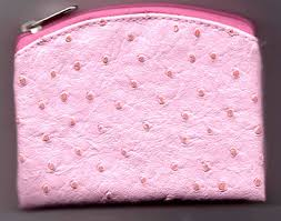 pink rosary ostrich skin pattern pink rosary
