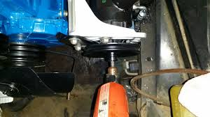 has anybody replaced bendix power steering gear with manual gear