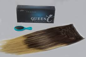Dirty Hair Extensions by Queen C Hair Extensions Clip Ins Balayage Collection