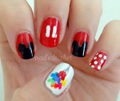 disney nail art cute nails