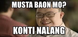 Meme Mo - musta baon mo konti nalang mcdo meme meme generator