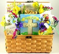 Easter Gifts Amazon Com Gift Basket Village The Spirit Of Easter Christian