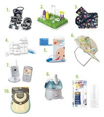 top baby registries top 10 must haves for new list of essential items for