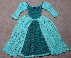 ravelry princess dress blanket green pattern by carol l hladik