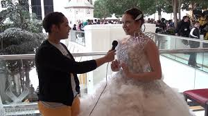 katniss wedding dress hunger games cosplay youtube
