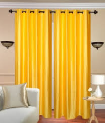 Yellow Curtain Buy Curtain And Accessories At Best Prices Glamkart