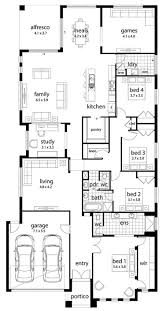 House Plans With Attached Guest House House Layouts Large Families Semi Attached Plan Rare Best Plans
