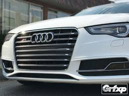 audi a6 b8 grille overlay kit for b8 5 audi s5 a5 s line 2013 2016