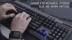 amazon black friday corsair lux corsair vengeance k70 cherry mx blue u0026 brown switches overview