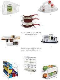 Upper Corner Cabinet Dimensions Upper Corner Kitchen Cabinet Solutions Live Simply By Annie