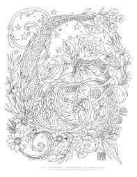 top 5 elegant and also beautiful printable complex coloring pages