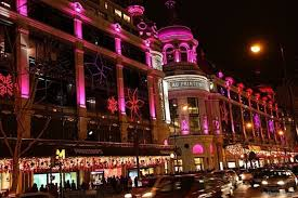 decorations at printemps department store photo by
