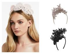 lace fascinator luxe to less racing fascinators forty up