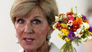 Flower Decorations For Hair Julie Bishop Faces Sexist Questions In Senate Estimates