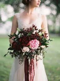 Red Wedding Bouquets 27 Stunning Wedding Bouquets For November