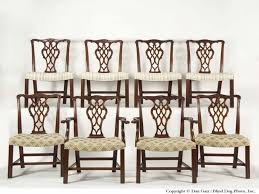 Chippendale Dining Room Furniture Furniture Chippendale Dining Chairs Mahogany Chippendale