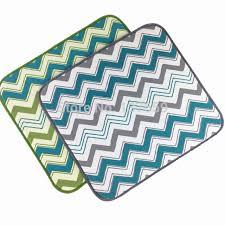 kitchen drying mat 40cmx46cm super water absorbent microfiber dish drying mat for