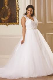 wedding dresses plus size uk retro sweep brush tulle beading sleeveless a line straps