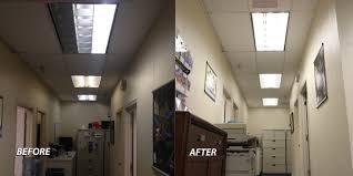 led tube lights vs fluorescent fluorescent lighting causing havoc in the workplace