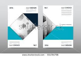brochure layout template flyer design vector stock vector