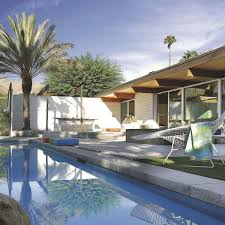 Maison Entre Artisanat Et Modernisme Palm Spings Architecture Moderne En Californie Côté Maison