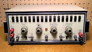 the heathkit ig 57a television post marker sweep generator youtube