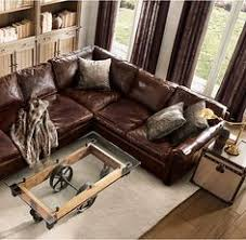 Lancaster Leather Sofa The Lancaster Leather Sofa From Restoration Hardware Our Bonus