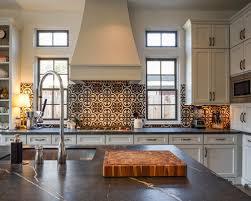 Cement Tile Backsplash by All Time Favorite Kitchen With Cement Tile Backsplash And