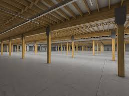 3d asset art deco industrial building interior cgtrader