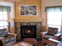 decor interesting corner gas fireplace for living room decor
