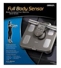 amazon com omron body composition monitor with scale 7 fitness