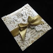 wedding invitation ideas elegant white laser cut indian wedding