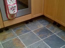 Ideas For Kitchen Floor Tiles - design ideas of dark tile floor in kitchen my home design journey