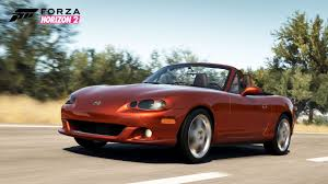 mazda u forza horizon 2 players can download the mazda mx 5 car pack next