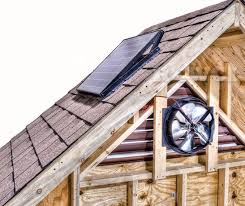 installing a gable vent fan use a 40 watt solar gable fan to ventilate your attic harnessing the